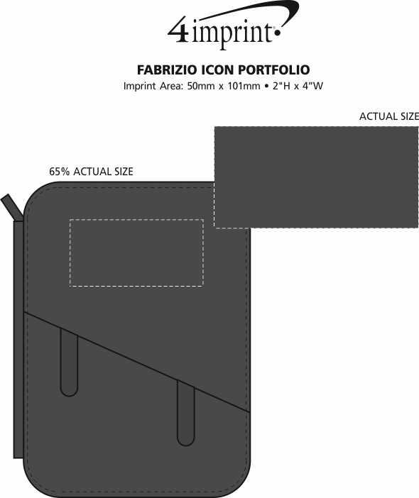 Imprint Area of Fabrizio Icon Portfolio