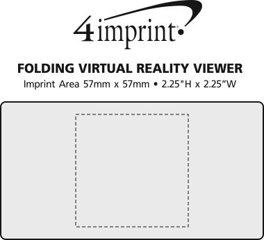 Imprint Area of Folding Virtual Reality Viewer