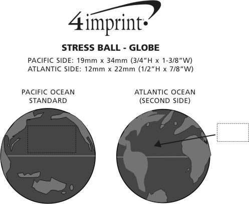 Imprint Area of Stress Reliever - Globe