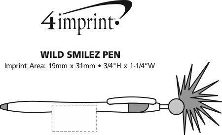 Imprint Area of Wild Smilez Pen