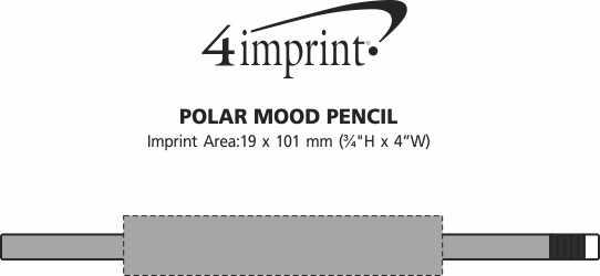 Imprint Area of Polar Mood Pencil