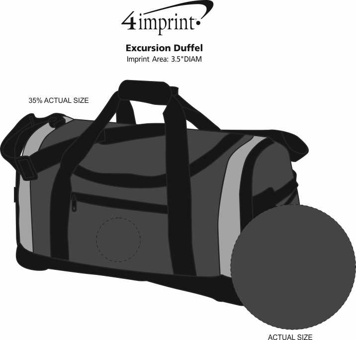 Imprint Area of Excursion Duffel