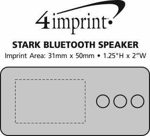 Imprint Area of Stark Wireless Speaker