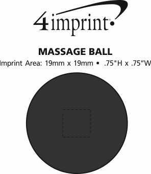 Imprint Area of Massage Ball