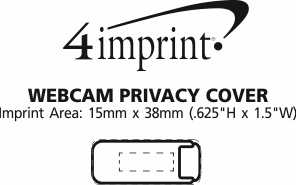 Imprint Area of Webcam Privacy Cover