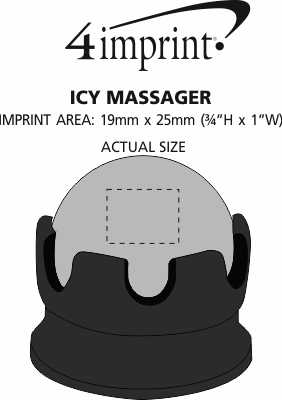 Imprint Area of Icy Massager