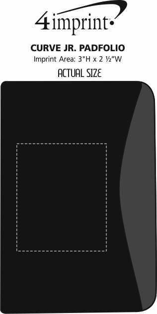 Imprint Area of Curve Jr. Padfolio