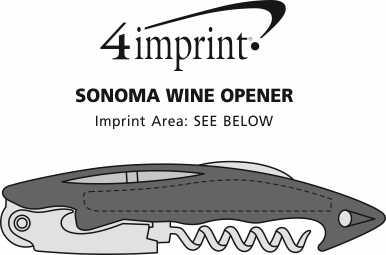 Imprint Area of Sonoma Wine Opener