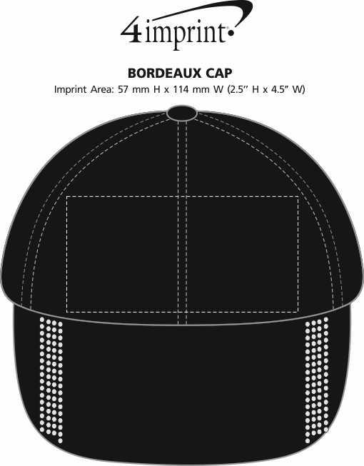 Imprint Area of Bordeaux Cap