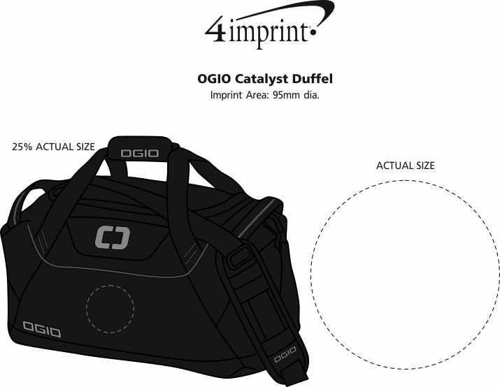 Imprint Area of OGIO Catalyst Duffel