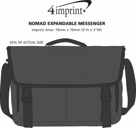 Imprint Area of Nomad Expandable Messenger