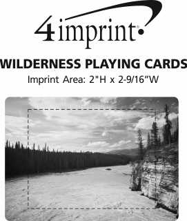 Imprint Area of Wilderness Playing Cards