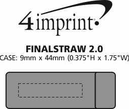Imprint Area of FinalStraw 2.0