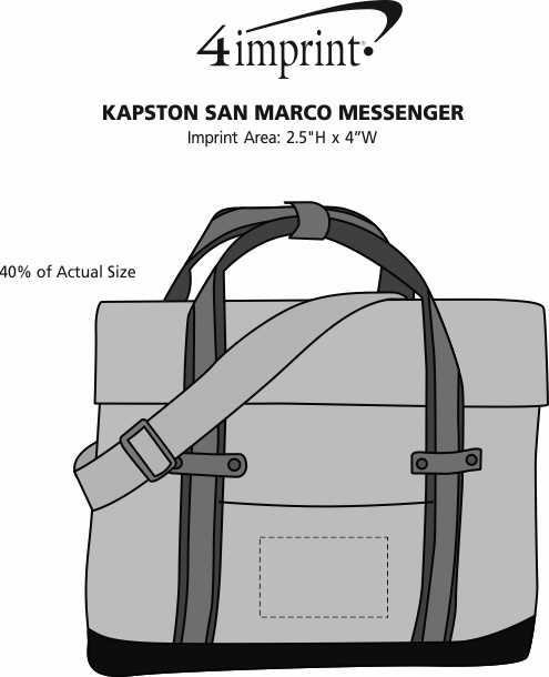 Imprint Area of Kapston San Marco Messenger