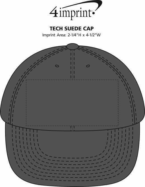 Imprint Area of Tech Suede Cap