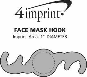 Imprint Area of Face Mask Hook