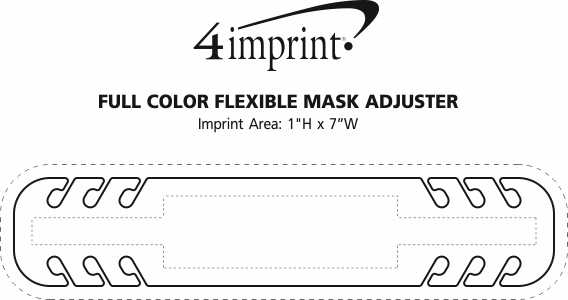 Imprint Area of Full Colour Flexible Mask Adjuster