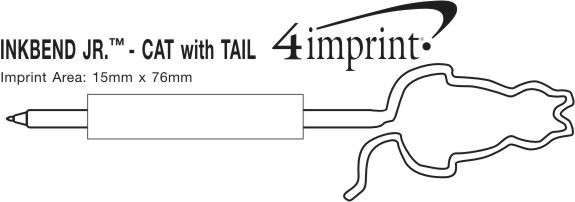 Imprint Area of Inkbend Standard - Cat with Tail