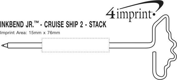 Imprint Area of Inkbend Standard - Cruise Ship 2 - Stack