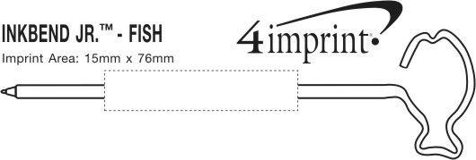 Imprint Area of Inkbend Standard - Fish