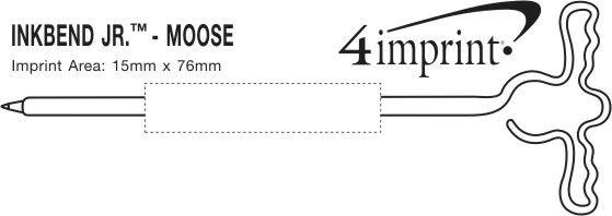 Imprint Area of Inkbend Standard - Moose