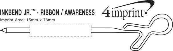 Imprint Area of Inkbend Standard - Ribbon/Awareness