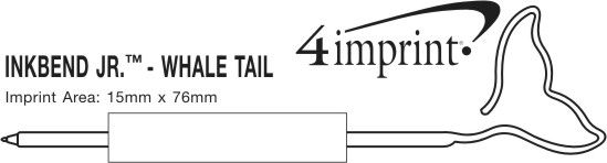 Imprint Area of Inkbend Standard - Whale Tail