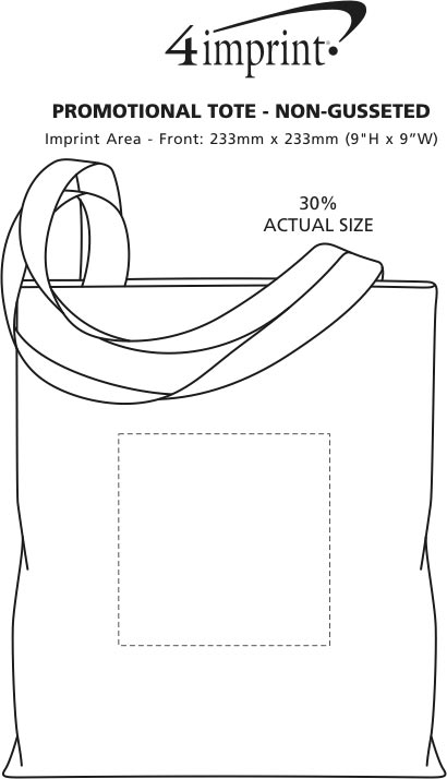 Imprint Area of Conference Tote