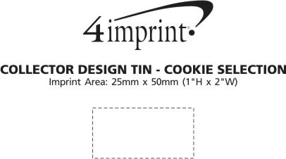Imprint Area of Collector Design Tin - Cookie Selection