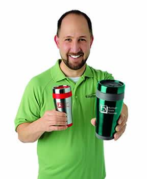 Matt with 4imprint products