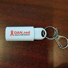 Customer photo of the Clicker USB Drive