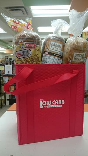 Customer photo from Katrina of our Therm-O-Tote Insulated Grocery Bag